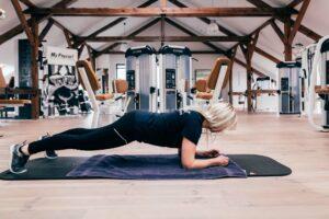 Position Planks / Unterarmstütz